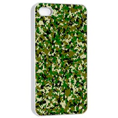 Camo Pattern Apple Iphone 4/4s Seamless Case (white) by BangZart