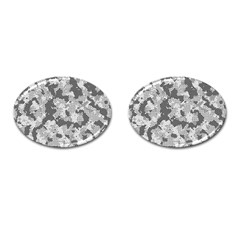 Camouflage Patterns Cufflinks (oval) by BangZart