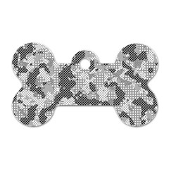 Camouflage Patterns Dog Tag Bone (two Sides) by BangZart