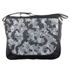 Camouflage Patterns Messenger Bags by BangZart