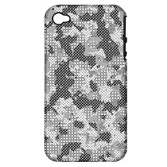 Camouflage Patterns Apple Iphone 4/4s Hardshell Case (pc+silicone) by BangZart