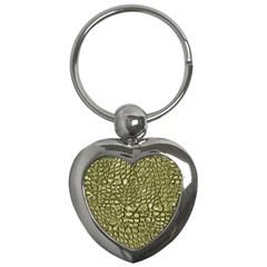 Aligator Skin Key Chains (heart)  by BangZart