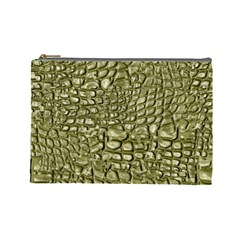 Aligator Skin Cosmetic Bag (large)  by BangZart