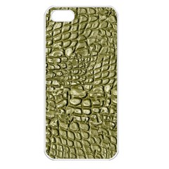 Aligator Skin Apple Iphone 5 Seamless Case (white)