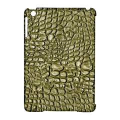 Aligator Skin Apple Ipad Mini Hardshell Case (compatible With Smart Cover) by BangZart