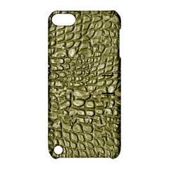 Aligator Skin Apple Ipod Touch 5 Hardshell Case With Stand by BangZart