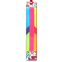 Peace Sign Animals Pattern Large Book Marks by BangZart