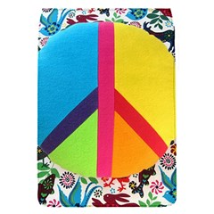 Peace Sign Animals Pattern Flap Covers (s)  by BangZart