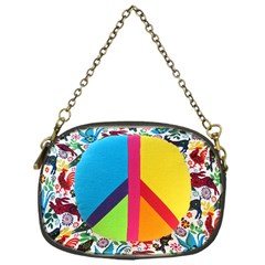 Peace Sign Animals Pattern Chain Purses (one Side)  by BangZart