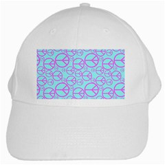 Peace Sign Backgrounds White Cap by BangZart
