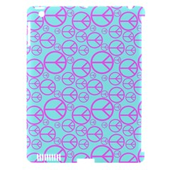 Peace Sign Backgrounds Apple Ipad 3/4 Hardshell Case (compatible With Smart Cover) by BangZart