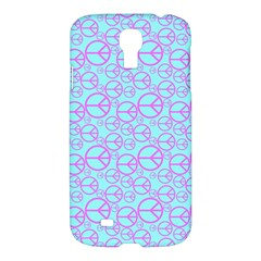 Peace Sign Backgrounds Samsung Galaxy S4 I9500/i9505 Hardshell Case by BangZart
