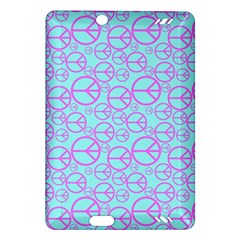 Peace Sign Backgrounds Amazon Kindle Fire Hd (2013) Hardshell Case by BangZart