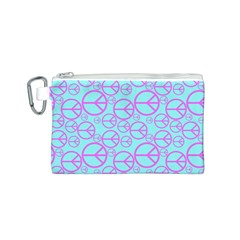 Peace Sign Backgrounds Canvas Cosmetic Bag (s) by BangZart