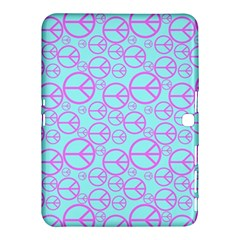 Peace Sign Backgrounds Samsung Galaxy Tab 4 (10 1 ) Hardshell Case  by BangZart