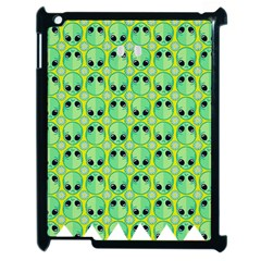 Alien Pattern Apple Ipad 2 Case (black) by BangZart