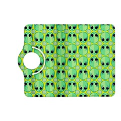 Alien Pattern Kindle Fire Hd (2013) Flip 360 Case by BangZart
