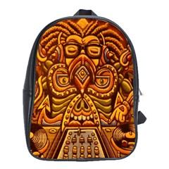 Alien Dj School Bags(large)  by BangZart