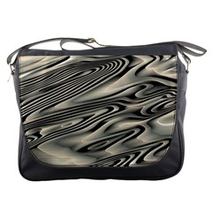 Alien Planet Surface Messenger Bags by BangZart