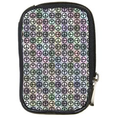 Peace Pattern Compact Camera Cases by BangZart