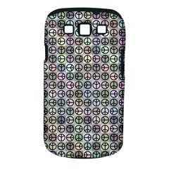 Peace Pattern Samsung Galaxy S Iii Classic Hardshell Case (pc+silicone) by BangZart