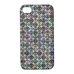 Peace Pattern Apple Iphone 4/4s Hardshell Case With Stand by BangZart