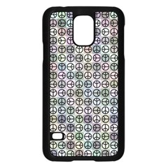Peace Pattern Samsung Galaxy S5 Case (black) by BangZart