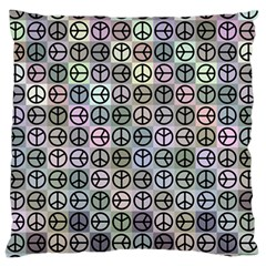 Peace Pattern Standard Flano Cushion Case (two Sides) by BangZart