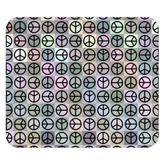 Peace Pattern Double Sided Flano Blanket (small)  by BangZart