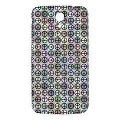 Peace Pattern Samsung Galaxy Mega I9200 Hardshell Back Case by BangZart