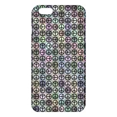 Peace Pattern Iphone 6 Plus/6s Plus Tpu Case by BangZart