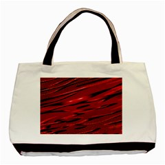 Alien Sine Pattern Basic Tote Bag by BangZart