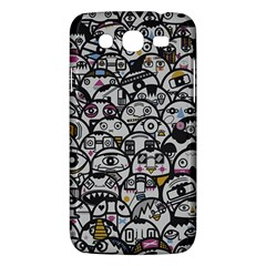 Alien Crowd Pattern Samsung Galaxy Mega 5 8 I9152 Hardshell Case  by BangZart