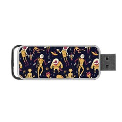 Alien Surface Pattern Portable Usb Flash (two Sides) by BangZart