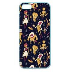 Alien Surface Pattern Apple Seamless iPhone 5 Case (Color)