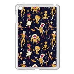 Alien Surface Pattern Apple Ipad Mini Case (white) by BangZart