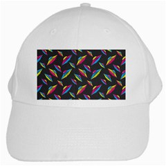 Alien Patterns Vector Graphic White Cap by BangZart