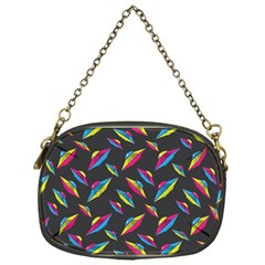 Alien Patterns Vector Graphic Chain Purses (one Side)  by BangZart
