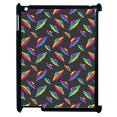 Alien Patterns Vector Graphic Apple Ipad 2 Case (black) by BangZart