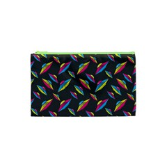 Alien Patterns Vector Graphic Cosmetic Bag (xs) by BangZart