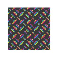 Alien Patterns Vector Graphic Small Satin Scarf (square) by BangZart