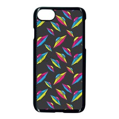 Alien Patterns Vector Graphic Apple Iphone 7 Seamless Case (black) by BangZart