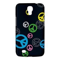 Peace & Love Pattern Samsung Galaxy Mega 6 3  I9200 Hardshell Case by BangZart