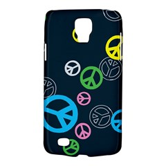 Peace & Love Pattern Galaxy S4 Active by BangZart