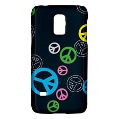 Peace & Love Pattern Galaxy S5 Mini by BangZart