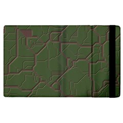Alien Wires Texture Apple Ipad 2 Flip Case by BangZart