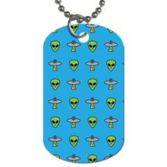 Alien Pattern Dog Tag (one Side) by BangZart