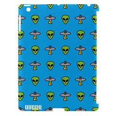 Alien Pattern Apple Ipad 3/4 Hardshell Case (compatible With Smart Cover) by BangZart