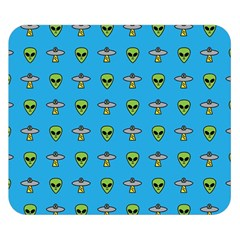 Alien Pattern Double Sided Flano Blanket (small)  by BangZart