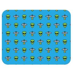 Alien Pattern Double Sided Flano Blanket (medium)  by BangZart